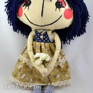 Anolinka - ręcznie szyta lalka z duszą lalki anolina lalka, lala