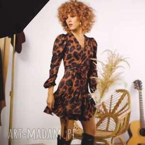 sukienki alicia mini - kopertowa sukienka