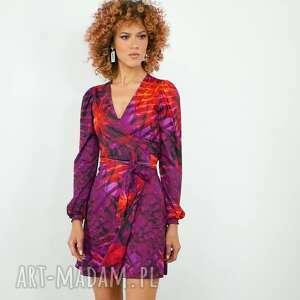 sukienki lily mini - hot tropical sukienka