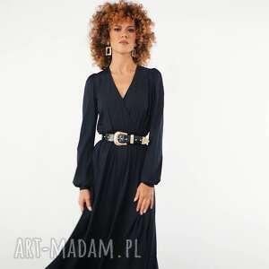 katarzyna black night - czarna sukienka, elegancka, luźna, oryginalna sukienki