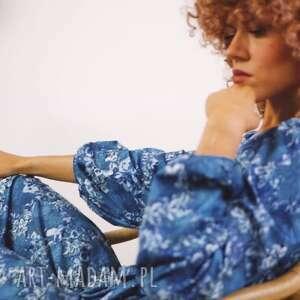 sukienki dominika maxi magic garden - sukienka boho, maxi, długa