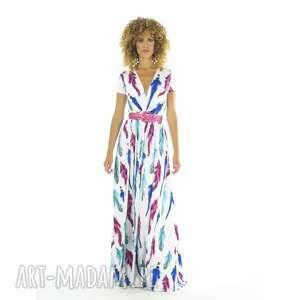 lorita - sukienka boho, długa, luźna, wygodna, pod choinkę prezent