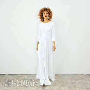 ślub agness - klasyczna suknia ślubna