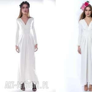ślub pani zima - suknia ślubna/wieczorowa
