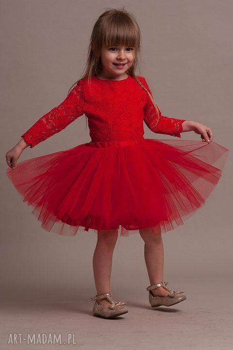 ręczne wykonanie ubranka tiul uroczy komplet dla dziewczynki!