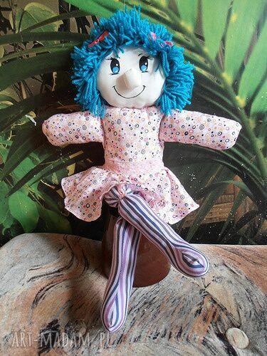 handmade dla dziecka lalka przytulanka