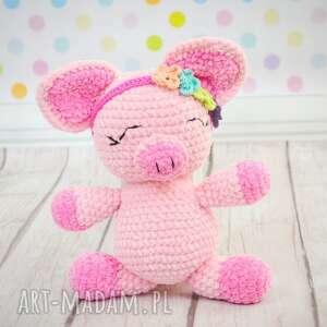 Pani goloneczka - mała świneczka maskotki akukuuu świnka