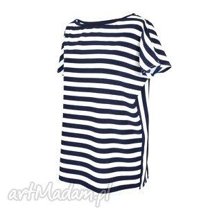 Bluzka Paski / Boodaa Konari, paski, bluza, bluzka, rękaw, uniwersalna