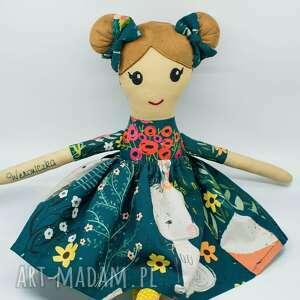 tuli handmade lalka ręcznie szyta, szmacianka dla dziewczynki