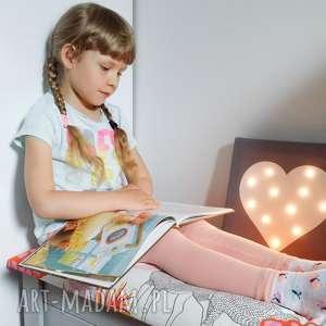 Prezent ŚWIECĄCY OBRAZ SERCE prezent lampka dekoracja, obraz, lampa, serce, dzieci