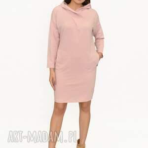sukienka elizabeth różowa, sukienki midi, spodnie, kurtka, sukienk mini, koszule