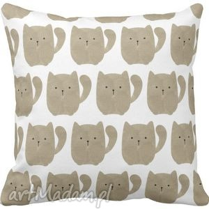 handmade dla dziecka poszewka na poduszkę dziecięca kotki 3065