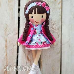 ręcznie zrobione lalki malowana lala marcysia