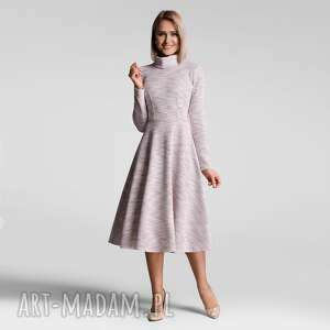 sukienki sukienka noella total midi nikola jasny róż melanż, golf