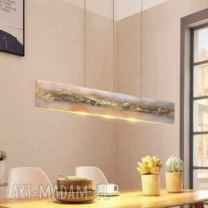 rosalia - loftowa lampa sufitowa z artystycznym efektownym wykończeniem