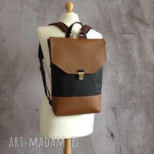 hand made wegański plecak