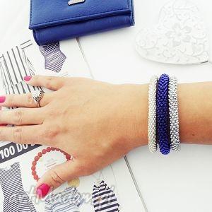 handmade bransoletki cobalt set