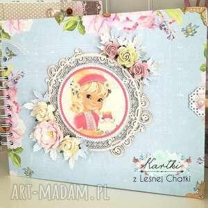 album małej damy, album, prezent, dziewczynka, życzenia, urodziny