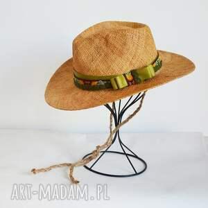 hand-made czapki letnia fedora
