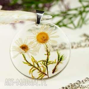 handmade naszyjniki z1304 naszyjnik z prawdziwym kwiatem-5cm