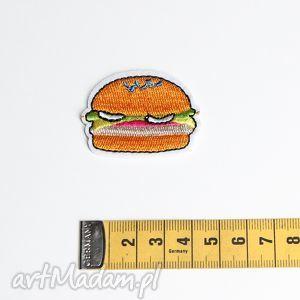 naszywka do ubrań hamburger, naszywka, dodatek, akcesoria, torebka