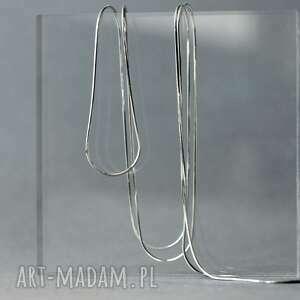 łańcuszek srebrny typu linka ośmiokątna ze srebra próby 925