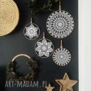 4 x łapacz snów dekoracje wooden love łapacz, snów, makrama
