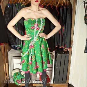 sukienka folk design aneta larysa knap , góralska, sukienki ubrania