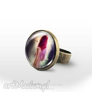 pierścionek - wróżka fairy antyczny brąz, pierścionek, pierścień, obrączka