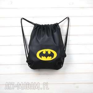 Worek plecak wodoodporny czarny godeco plecak, worek, batman