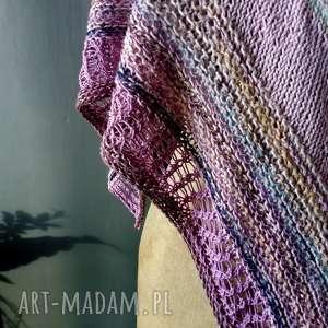 ręcznie robione chustki i apaszki pastelowa chusta