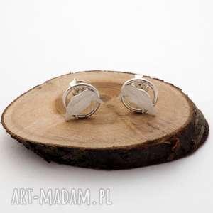 srebrne kolczyki zimorodki jachyra jewellery - zimorodek, ptaki