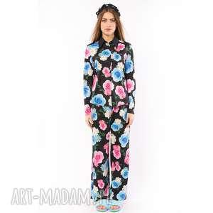 koszulki śpiąca królewna - koszula w kwiaty, piżama, koszula