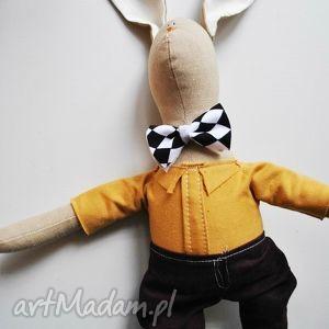 pan królik, maskotka, tilda, szmacianka, urodziny, chrzest, eko