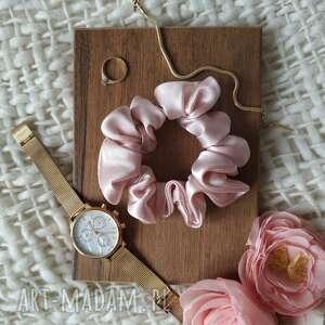 gumka jedwabna jasny róż, gumka, jedwabna
