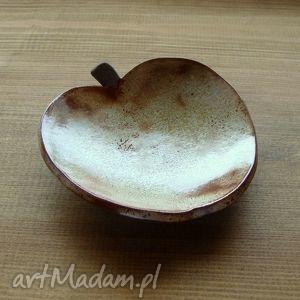 ceramika ceramiczne jabłuszko, rustic, rustykalny, jabłko, owoce, miseczka, fusetka