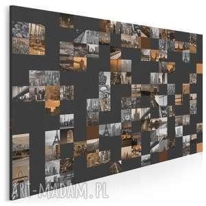 obraz na płótnie - podróże migawki 120x80 cm (27401)