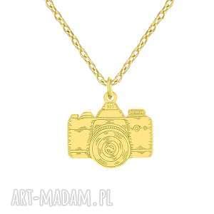 handmade naszyjniki naszyjnik z aparatem fotograficznym - passion