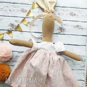 pani królik z wyszytym imieniem, zabawka, dziewczynki, prezent, urodziny
