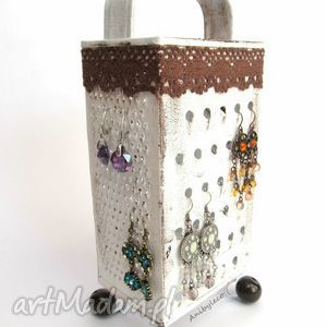 STOJAK NA BIŻUTERIĘ tarka, stojak, biżuteria, kolczyki