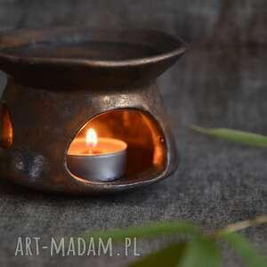 świeczniki kominek na olejki aromatyczne, kominek, olejek, aromat, eteryczny