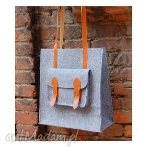 etoi design filcowa torba na ramię, filc, torba, torebka, skóra, personalizacja