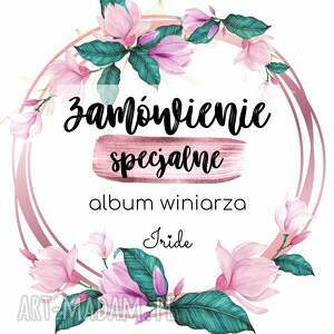 handmade scrapbooking albumy zamówienie indywidualne - album winiarza