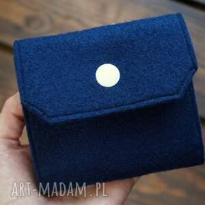 święta, filcowe etui na karty, portfel, etui, wzór geometryczny, polski produkt