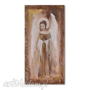 anioł, obraz ręcznie malowany, obraz, aniol, anioly, ręcznie, dekoracja