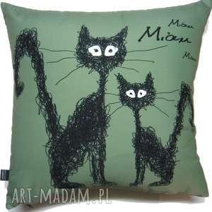 Poduszka z kotami poduszki gaul designs koty, poduszka, kot