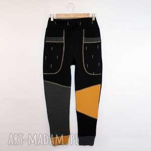 spodnie only one no 025 - dziecięce 140 cm, dres, eco, bawełna, taniec