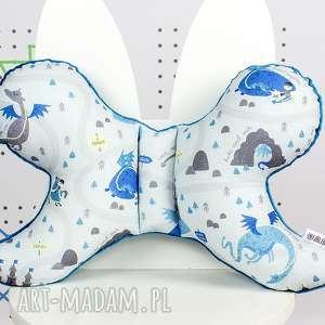 handmade dla dziecka motylek - poduszka antywstrząsowa dragon