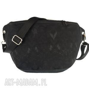 nerka xxl upcyklingowa elegant - ,nerka,żakardowa,elegancka,balowa,czarna,torebka,