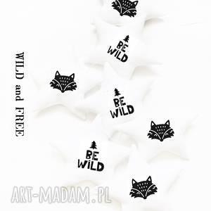 be wild - girlanda lis, girlanda, gwiazdki, fox, gwiazdka